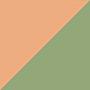 Персиковый/ Зеленый