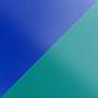 Витраж Синий / Изумрудный