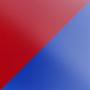 Витраж Красный / Синий