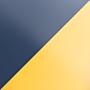 Витраж Серый / Желтый