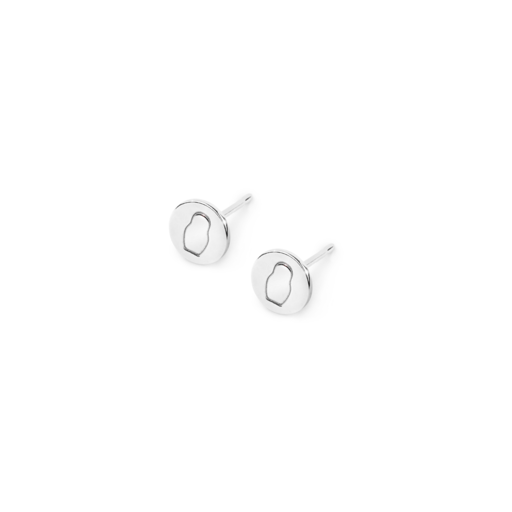 Серьги Pure Round Small
