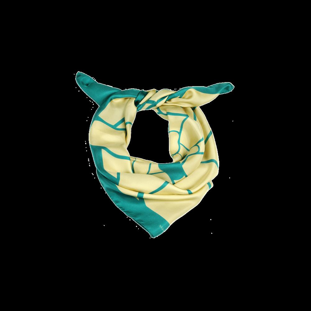 Шелковый платок Matryoshka Elegant